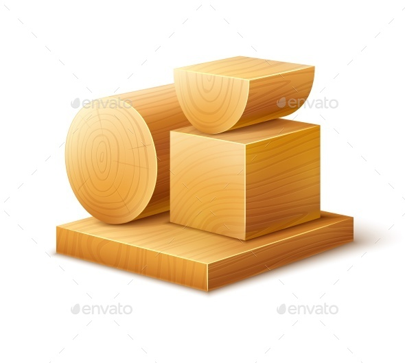 GraphicRiver Woodworks Wooden Blocks 10053610
