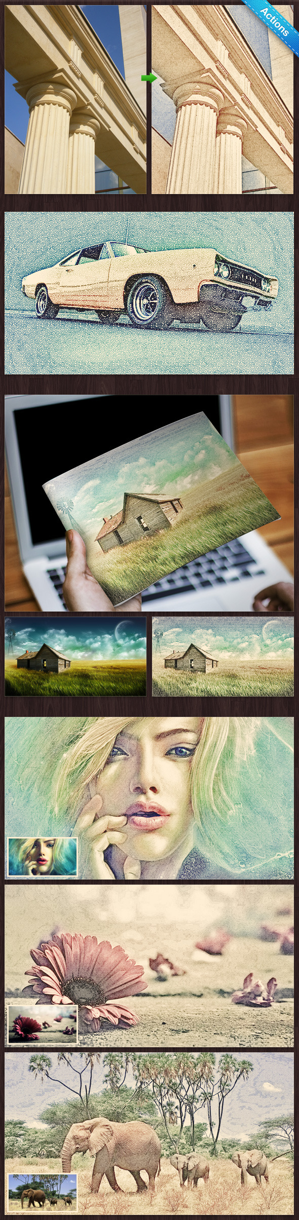 GraphicRiver Colorful Pencil Sketch 10053741