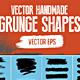 Handmade Vector Grunge Stroke/Shapes Set - GraphicRiver Item for Sale