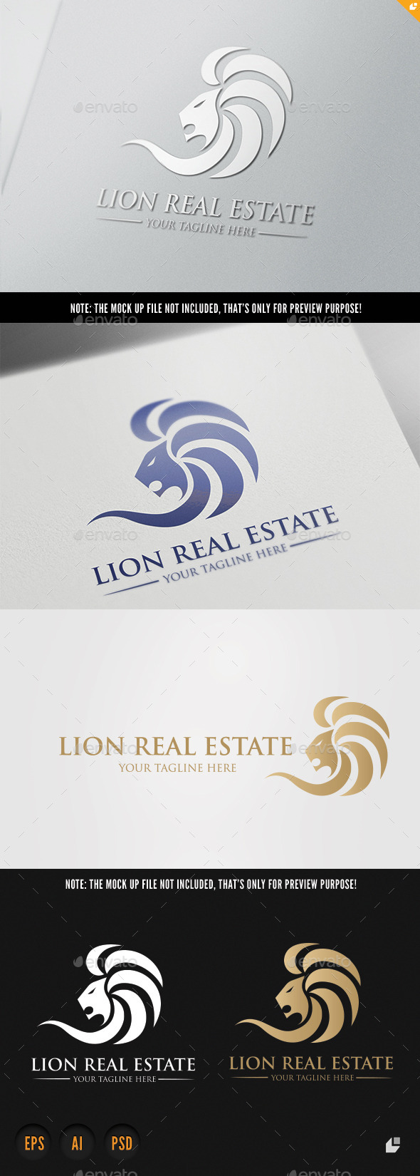 GraphicRiver Lion Real Estate 10053931