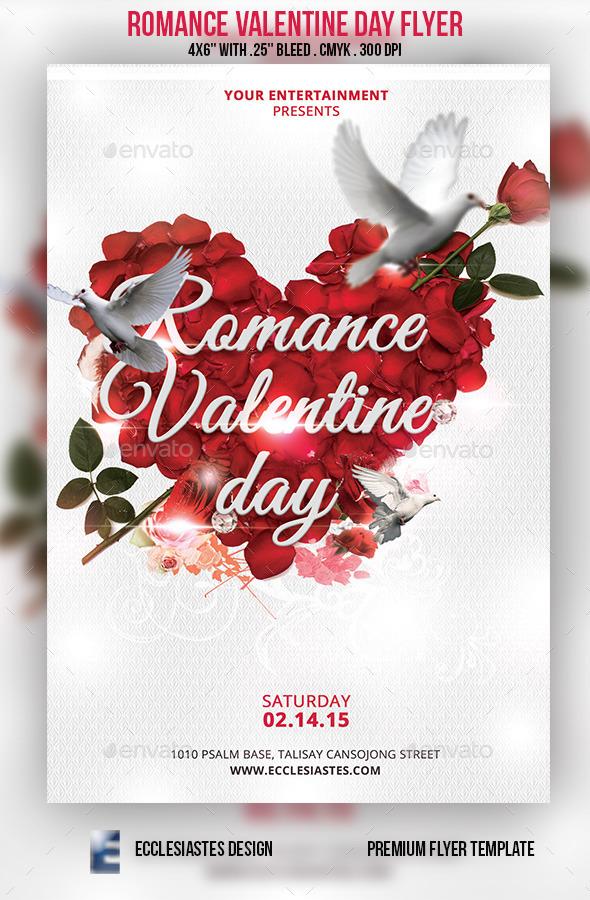 Romance Valentine Day Flyer