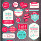 Set of Love Badges and Labels - GraphicRiver Item for Sale