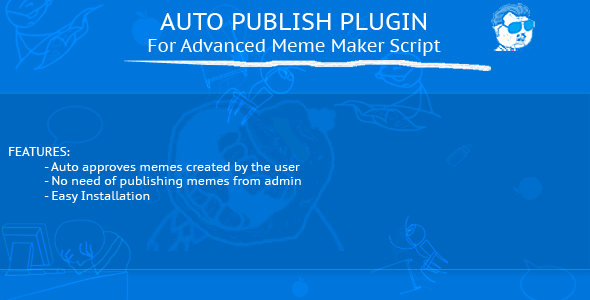 CodeCanyon Auto Publish Plugin Advanced Meme Maker Script 10054101