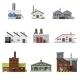 Industrial Buildings Flat - GraphicRiver Item for Sale