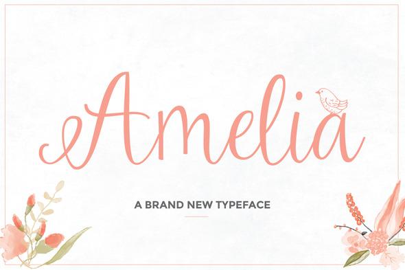 GraphicRiver Amelia Script 10054217