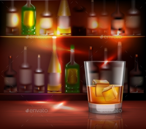 GraphicRiver Bar Counter Background 10054391