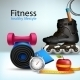 Fitness Lifestyle Background - GraphicRiver Item for Sale