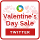 Valentines Day Twitter Header - GraphicRiver Item for Sale