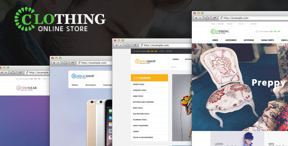 Ves Clothing Magento Theme