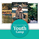 Youth Bible Camp Flyer - GraphicRiver Item for Sale