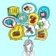Media Bubbles Concept - GraphicRiver Item for Sale