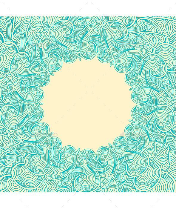 GraphicRiver Floral Frame 10055156