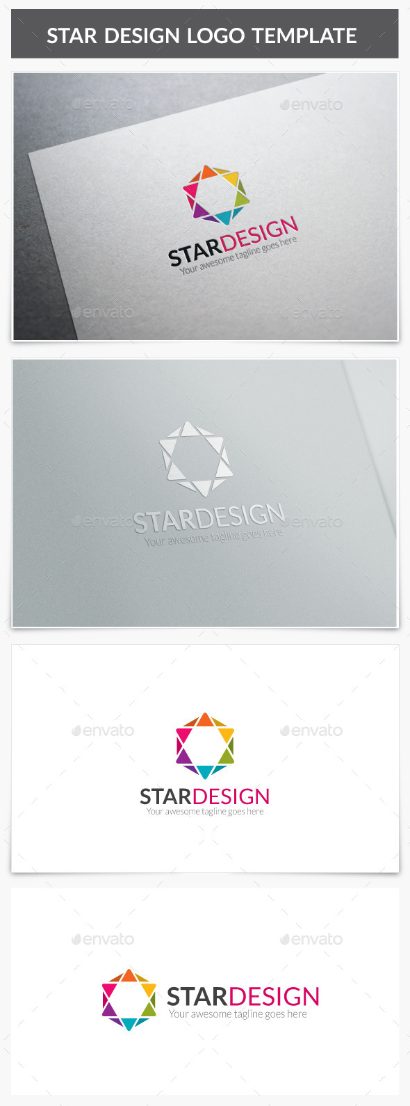 GraphicRiver Star Design Logo 10055478