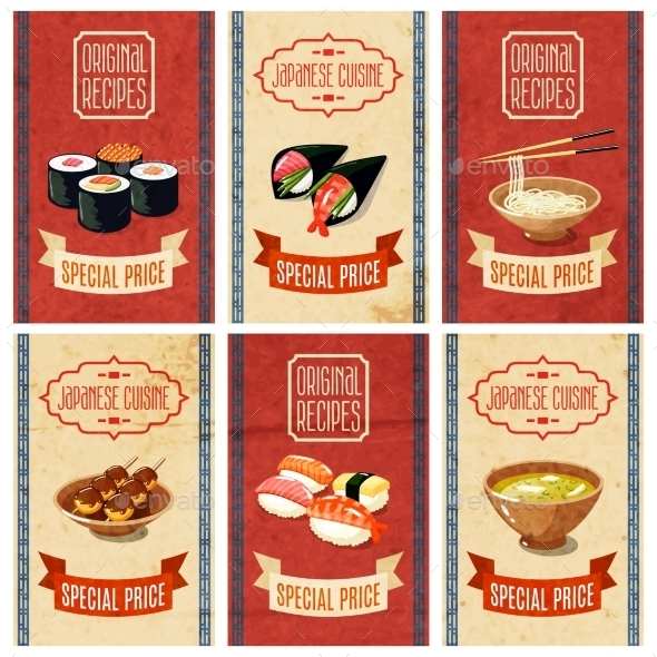 GraphicRiver Asian Food Banners 10055632