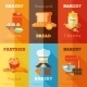 Bakery Mini Poster Set - GraphicRiver Item for Sale