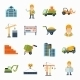 Construction Icons Flat - GraphicRiver Item for Sale