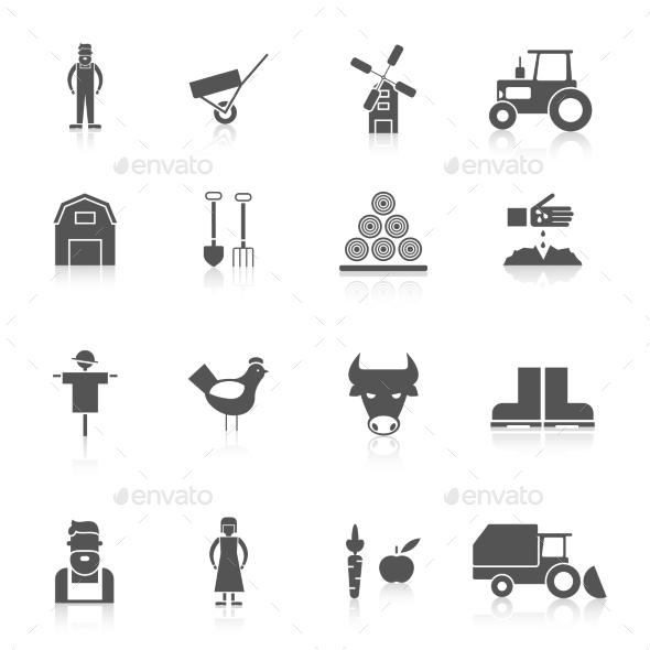 GraphicRiver Farm Icon Set 10055729