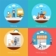 Delivery Icons Flat Set - GraphicRiver Item for Sale