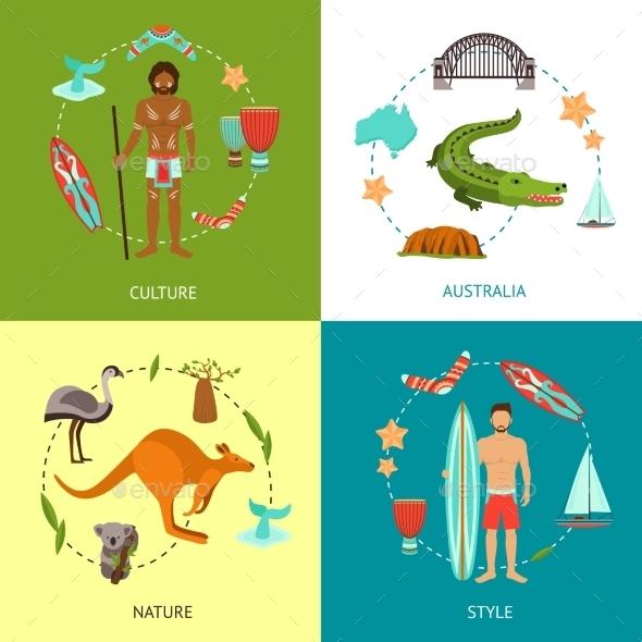 GraphicRiver Australia Design Concept 10056032