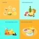 Healthy Food Flat - GraphicRiver Item for Sale