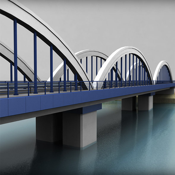 Arch Bridge - 3DOcean Item for Sale