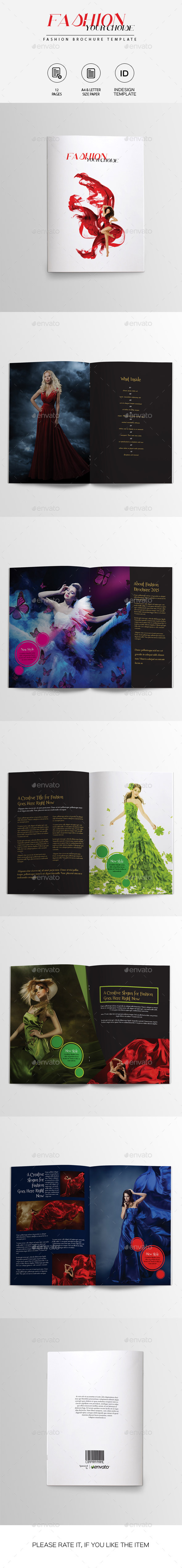 GraphicRiver Fashion Brochure Template 10056252