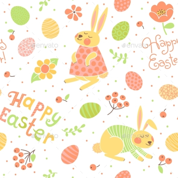 GraphicRiver Easter Pattern 10056415