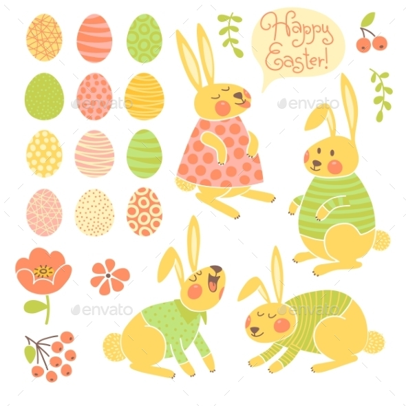 GraphicRiver Easter Background 10056443