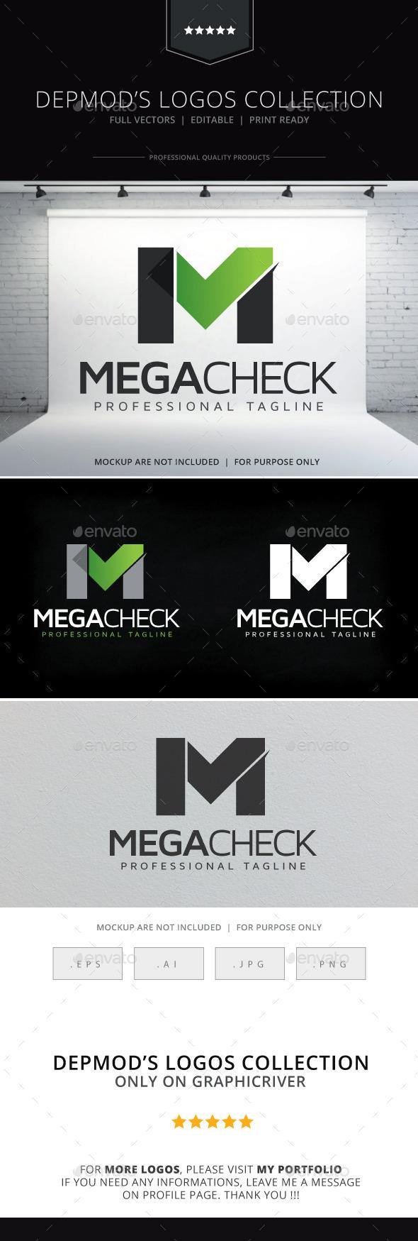 GraphicRiver Mega Check Logo 10057006