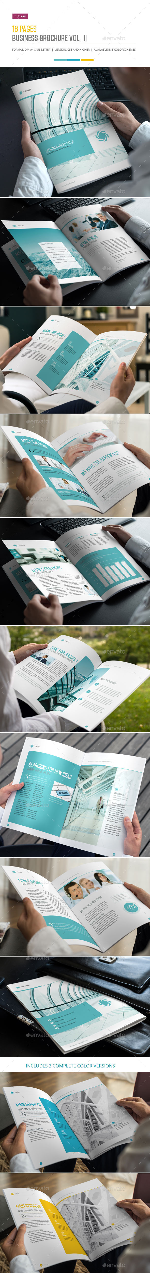 GraphicRiver 16 Pages Business Brochure Vol III 10057279