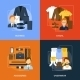 Clothes Icons Flat - GraphicRiver Item for Sale