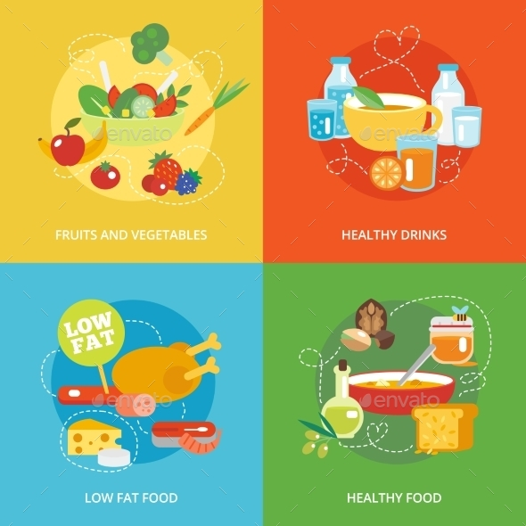 GraphicRiver Healthy Eating 10057336
