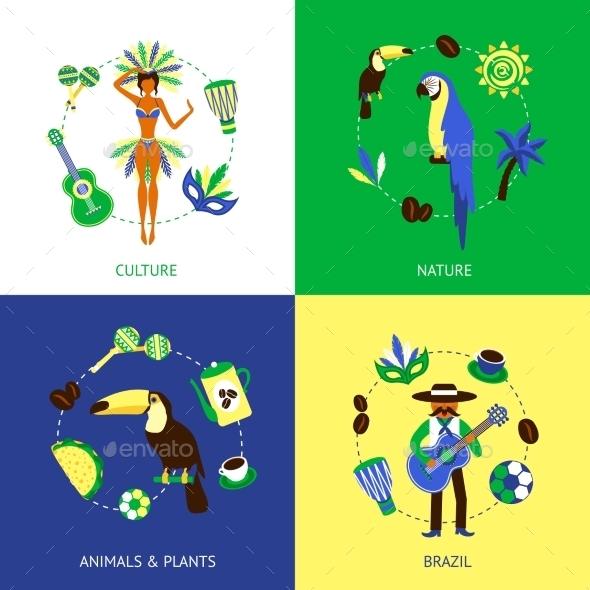 GraphicRiver Brazil Design Concept 10057430