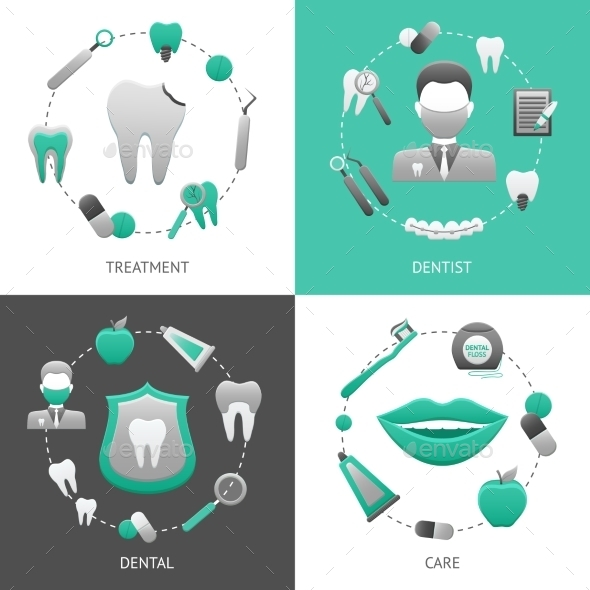 GraphicRiver Dental Design Concept 10057436