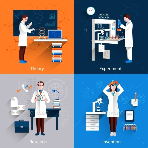 GraphicRiver Science Icons Set 10057452
