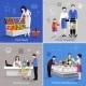 Supermarket People Set - GraphicRiver Item for Sale