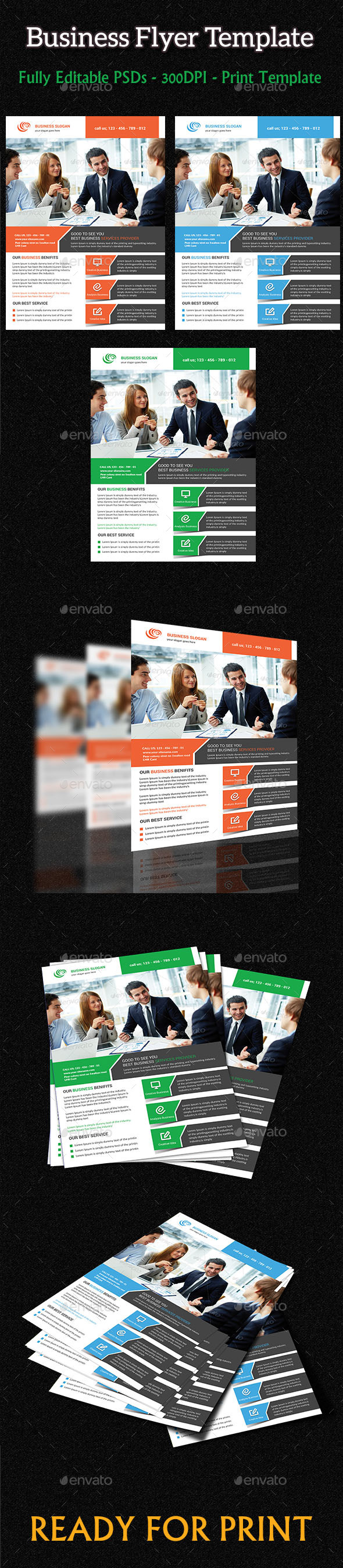 GraphicRiver Business Flyer 10057586