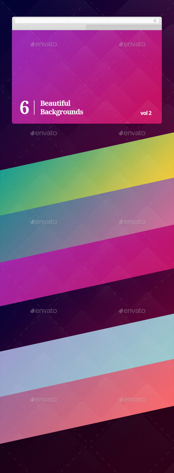 GraphicRiver Beautiful Backgrounds Vol 2 10057635