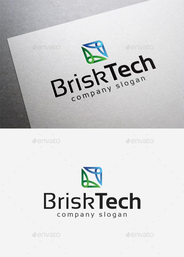 GraphicRiver Brisk Tech Logo 10057724