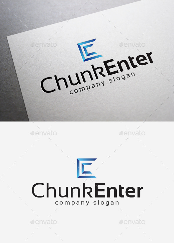 GraphicRiver Chunk Enter Logo 10057815