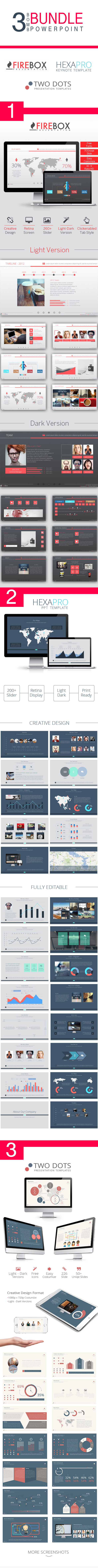 GraphicRiver 3 Bomb Bundle PowerPoint Presentation 10057924