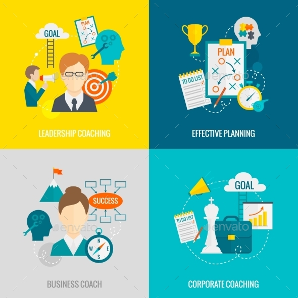 GraphicRiver Coaching Business Flat 10057900