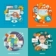 Seo Internet Marketing Flat - GraphicRiver Item for Sale