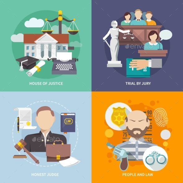 GraphicRiver Law Icons 10057922