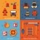 Firefighter Flat Set - GraphicRiver Item for Sale