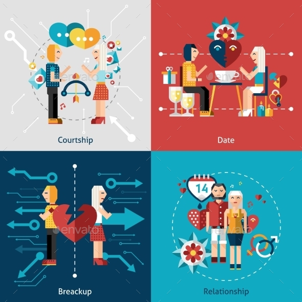 GraphicRiver Dating Icon Set 10058005