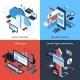 Isometric Computing Set - GraphicRiver Item for Sale