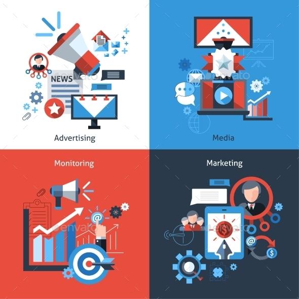 GraphicRiver Advertising Marketing Set 10058022