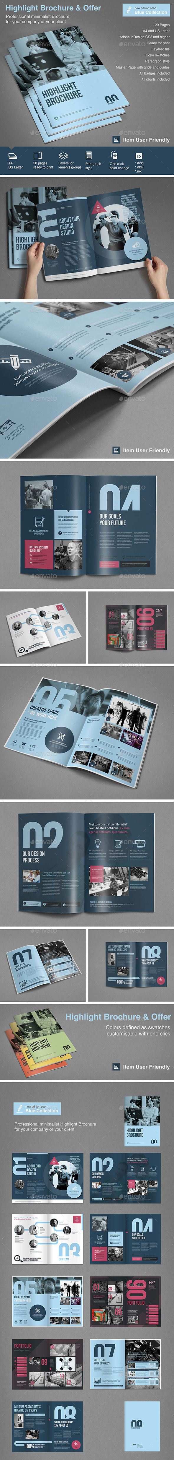 GraphicRiver Highlight Brochure & Offer 10058034