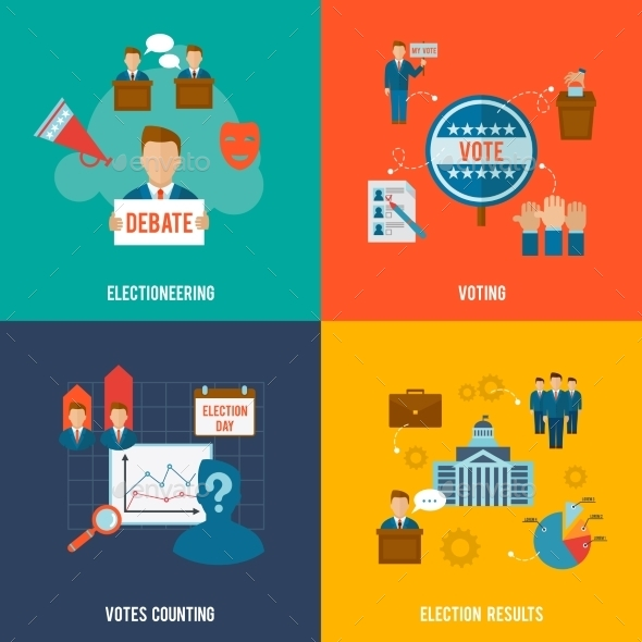 GraphicRiver Election Set 10058042